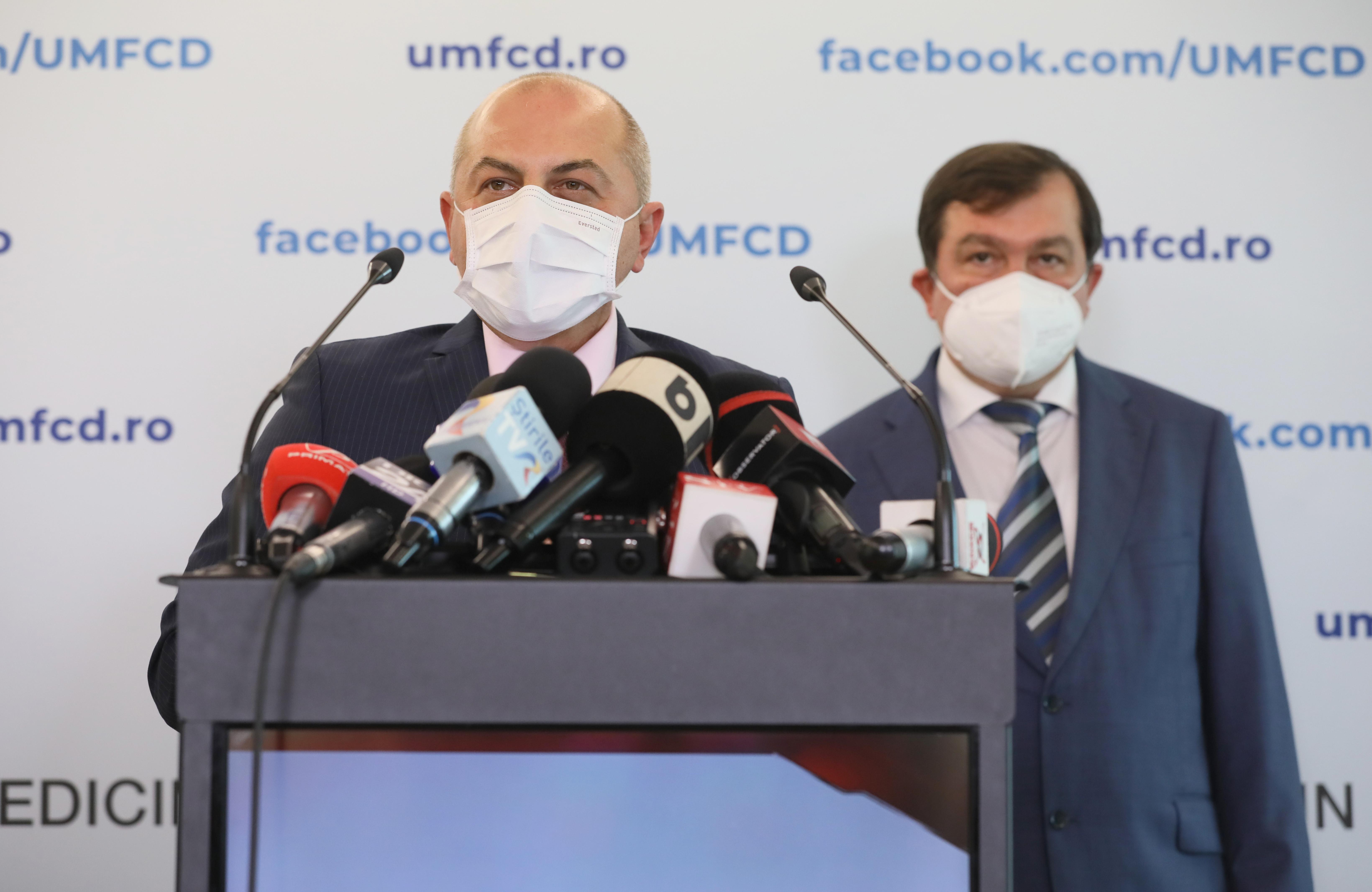 Managerul Spitalului Universitar din Bucureşti: România astăzi, la 400-500 de decese pe zi, pierde în fiecare zi un sat