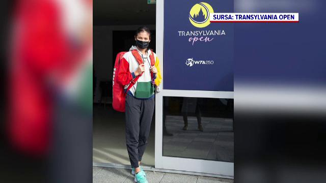 Emma Răducanu se antrenează de zor pe terenurile Transylvania Open. Cum a reușit să cucerească spectatorii