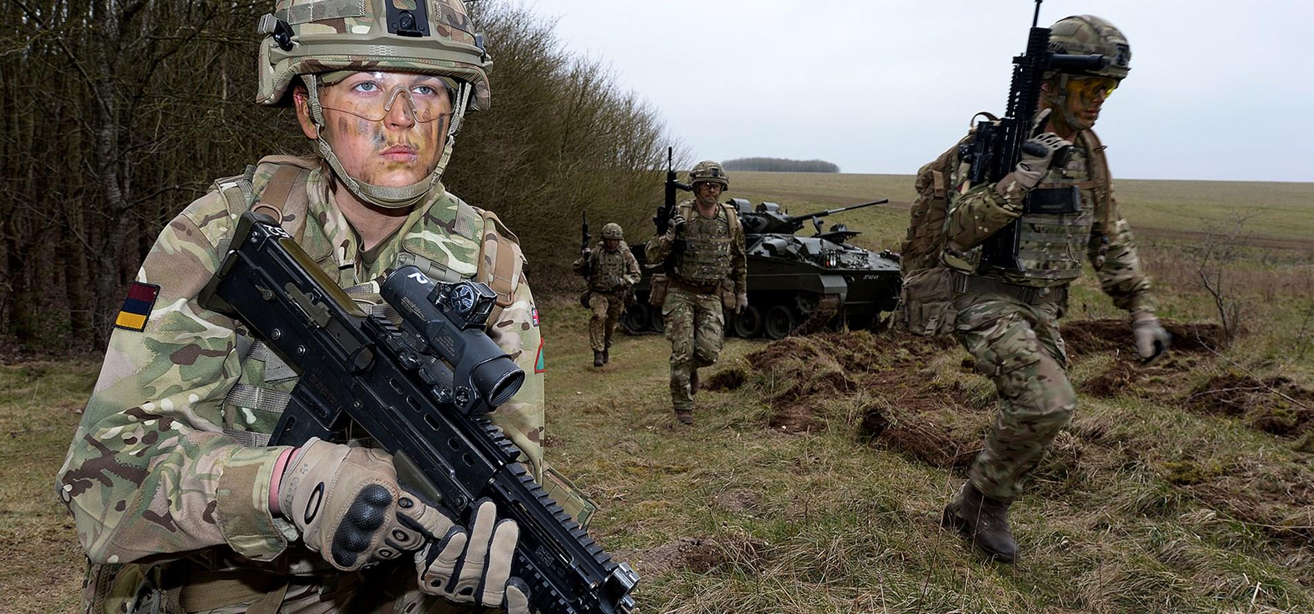Sute de femei din armata britanică sunt hărțuite sexual și bătute