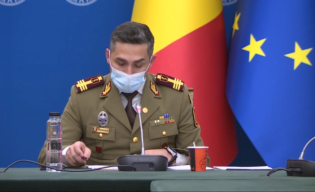 """Gheorghiță: """"Prin vaccinare, vom transforma o boală care ucide sute de oameni pe zi într-o viroză banală"""". Situația pe județe"""