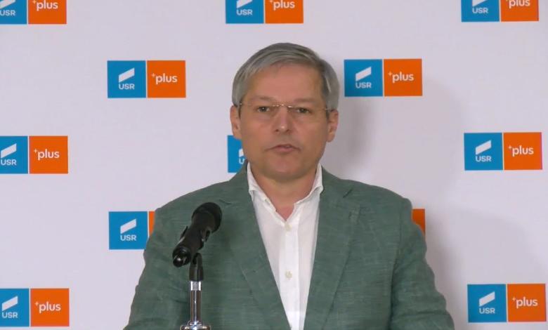 """Cioloş, răspuns la armistiţiul cerut de Ciucă: """"USR nu susţine un guvern minoritar"""""""
