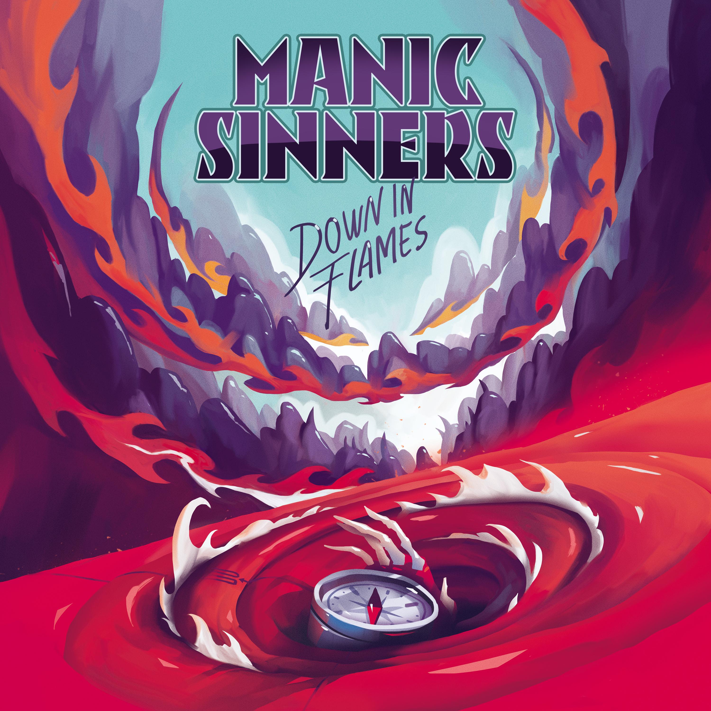 """Manic Sinners, prima trupă din România care a semnat cu Frontiers Music, a lansat primul single:""""Down in Flames"""""""