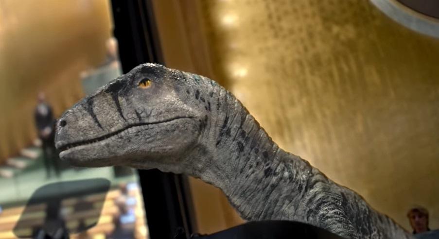 Campanie inedită a ONU: Un dinozaur cere oamenilor să nu își provoace extincția. VIDEO