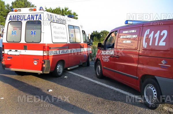 Al treilea accident pe autostrada Arad-Timisoara, in trei saptamani,de cand a fost data in folosinta