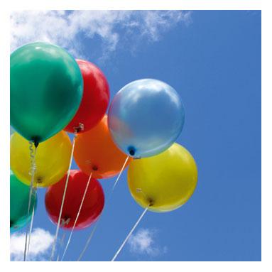 Rochie de mireasa facuta 100% din baloane