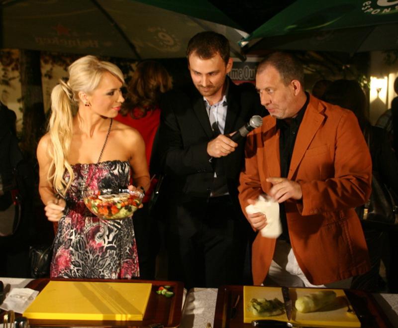 Magda Palimariu si Florin Busuioc s-au intrecut in arta gatitului