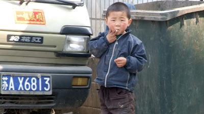 La 4 ani este fumator inrait si dependent de alcool!