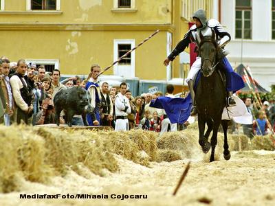 Principesa Margareta patroneaza a XX-a editie a Festivalului Sighisoara Medievala