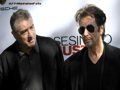 Al Pacino si Robert De Niro din nou impreuna. Unde vor putea fi vazuti cei doi mari actori