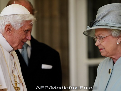 Vizita sub semnul terorismului. Papa Benedict al XVI-lea, la Londra