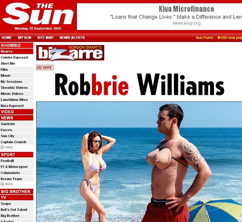 Robbie Williams si-a scos