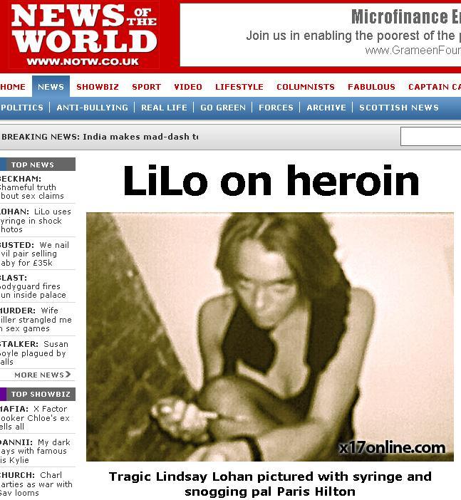 Revista presei: Lindsay Lohan s-ar putea intoarce la dezintoxicare