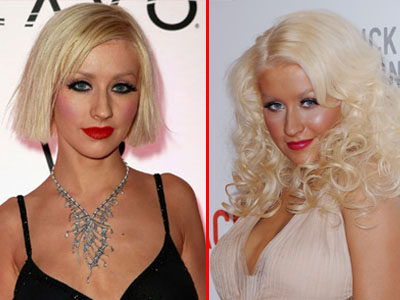 Christina Aguilera s-a rotunjit! Silueta ii joaca feste. FOTO