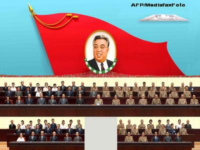 Natura a salutat memoria lui Kim Jong-il. O pasare si-a prezentat omagiile