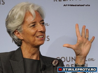 "Sefa FMI, Christine Lagarde: ""Economia mondiala traverseaza o faza plina de pericole"""