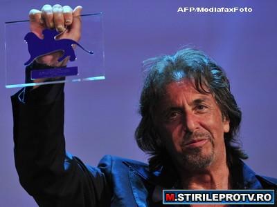 Al Pacino a primit cea mai inalta distinctie la Festivalul de Film de la Venetia