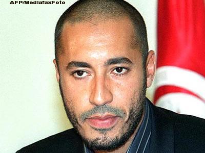 Al Saadi Ghaddafi, unul dintre fiii dictatorului libian, s-a refugiat in Niger