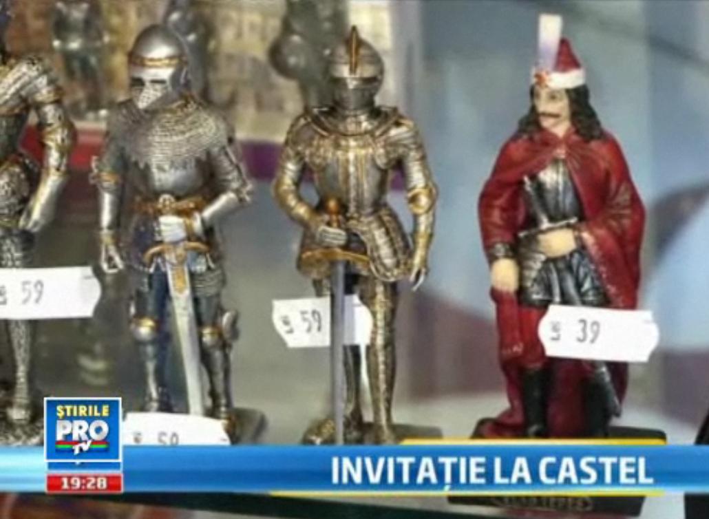 Castelul Bran a strans 1 milion de euro in 2010. Cei mai multi bani nu vin insa din bilete. VIDEO