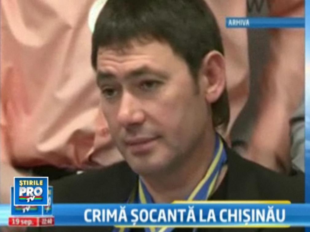 Fost politist, executat in stil mafiot in Chisinau. Un luptator de kickbox, cautat pentru declaratii