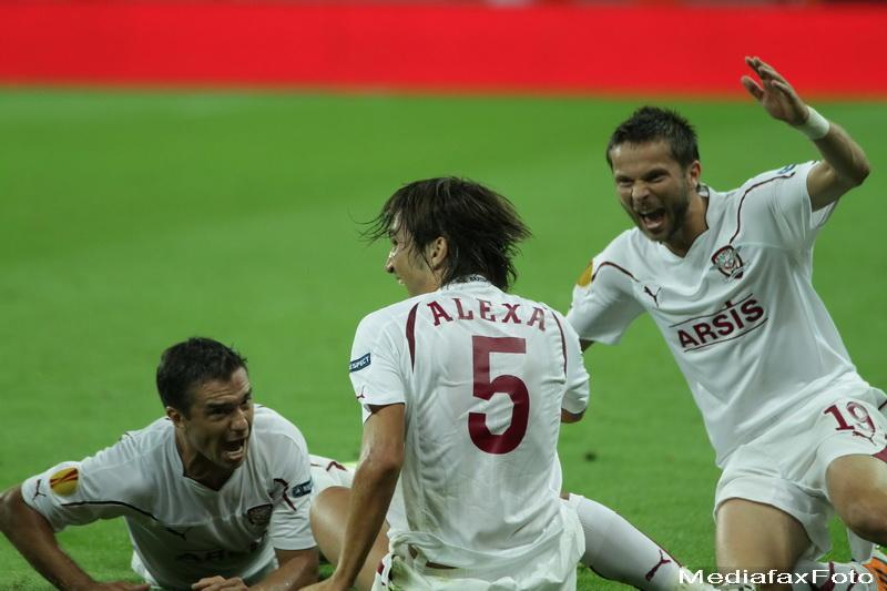2 puncte din 9 pentru romani in Europa League: Larnaca-Steaua 1-1, Rapid-PSV 1-3, Vaslui-Zurich 2-2