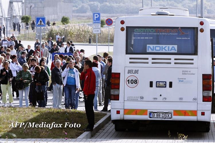 Cei 3.300 de romani disponibilizati de Nokia ar putea primi 6.6 milioane de euro din fonduri UE