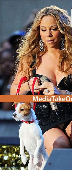Nu se astepta ca fotografii sa fie atat de atenti. Nimeni nu a mai vazut-o asa pe Mariah Carey. FOTO