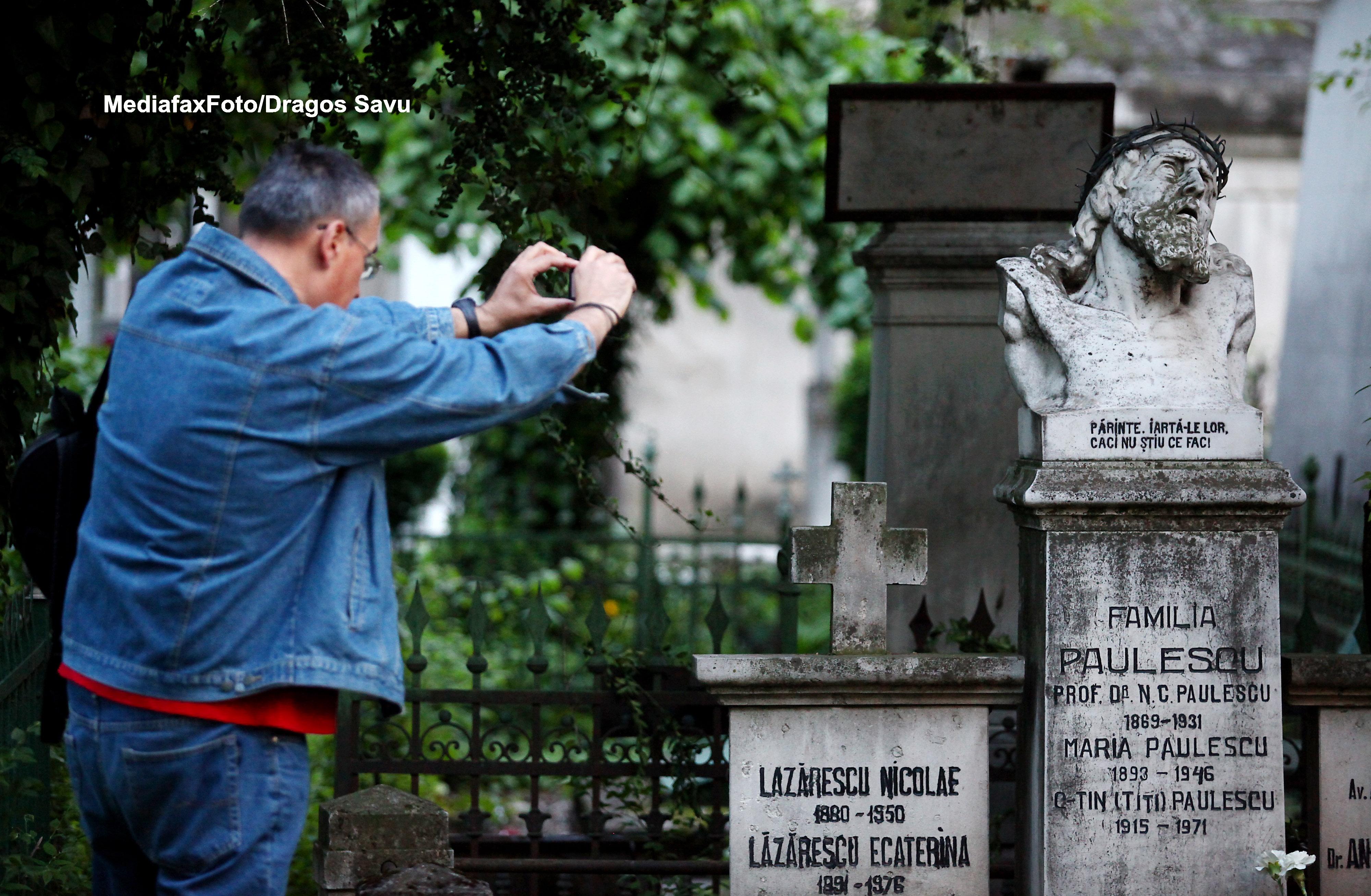Seara muzicala, vineri, la Cimitirul Bellu din Capitala: