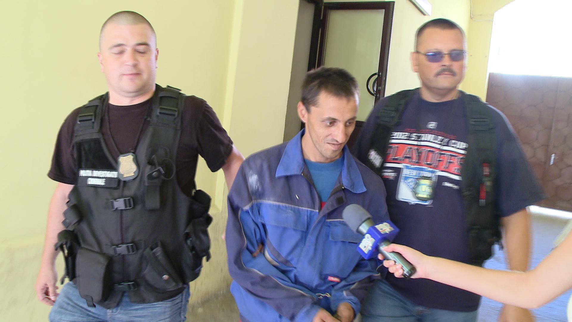 Un barbat cautat de autoritatile din Italia pentru comiterea unei crime a fost prins in Timis