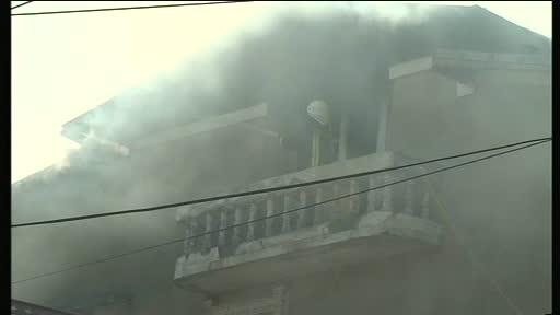 Una dintre proprietatile presupusei clarvazatoare Maria Campina a luat foc miercuri dimineata