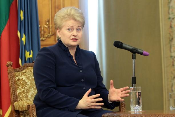 Alegeri prezidentiale in Lituania. Dalia Grybauskaite a obtinut 46,5% dintre voturi si va merge in turul doi