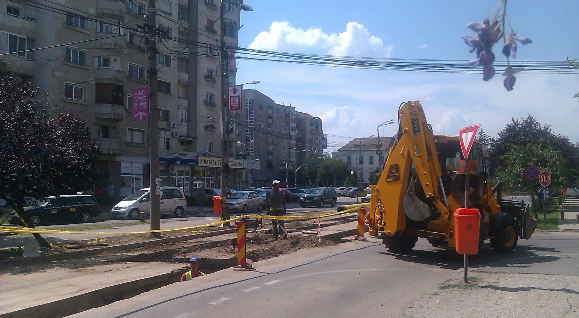 Pregatiri pentru haosul din trafic in prima zi de scoala. Santierele din Arad vor provoca ambuteiaje
