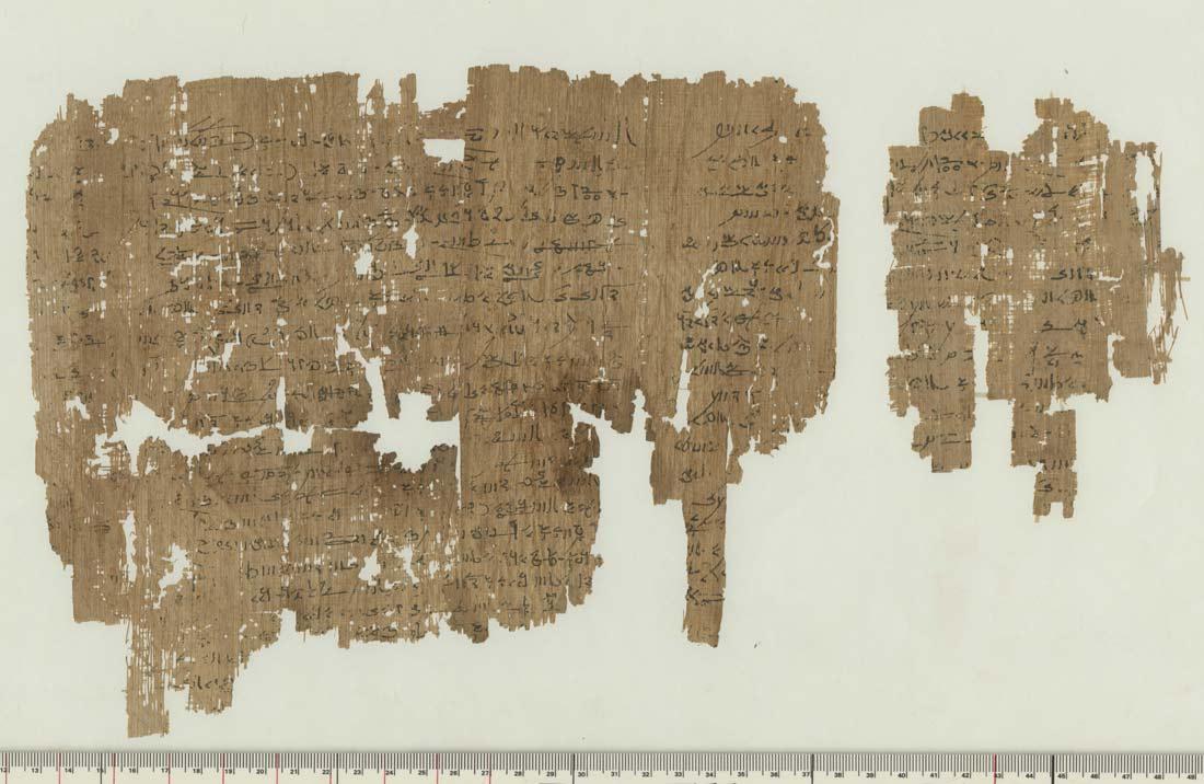 Desfrau antic in templul zeitei Mut. Egiptologii au rosit cand au citit papirusul