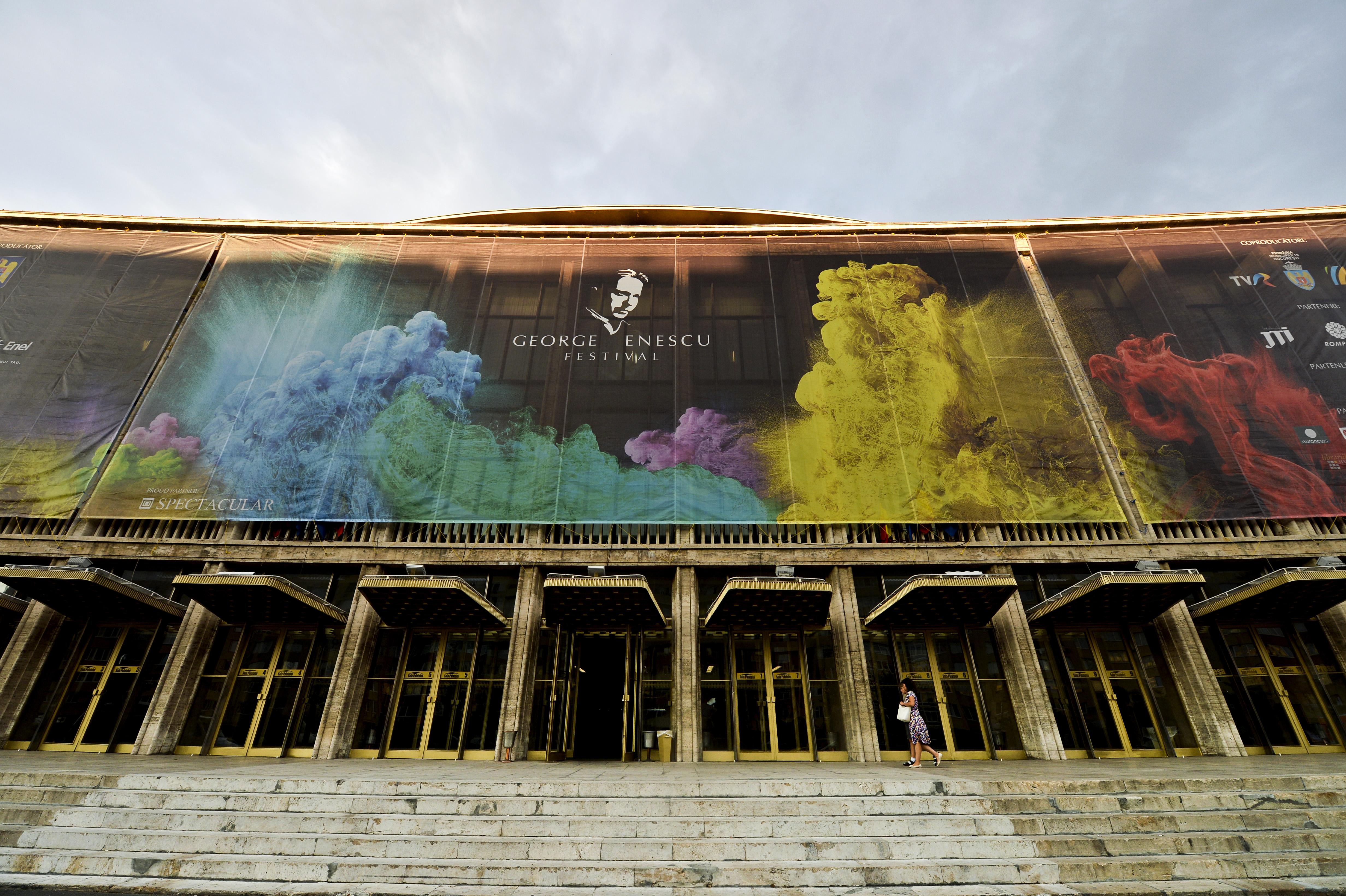 FESTIVALUL GEORGE ENESCU, programul de luni. Peste 20.000 de straini participa la eveniment