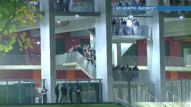 Cei 2900 de suporteri unguri au pornit in liniste spre casa dupa infrangerea de pe National Arena