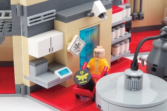 Jocul similar Lego, inspirat din Breaking Bad, care a starnit reactii dure pe internet