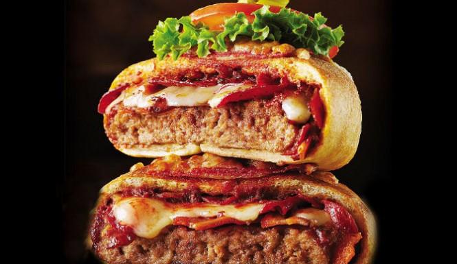 Pizzaburgerul, noua inventie a fast food-urilor din SUA. Cate calorii contine