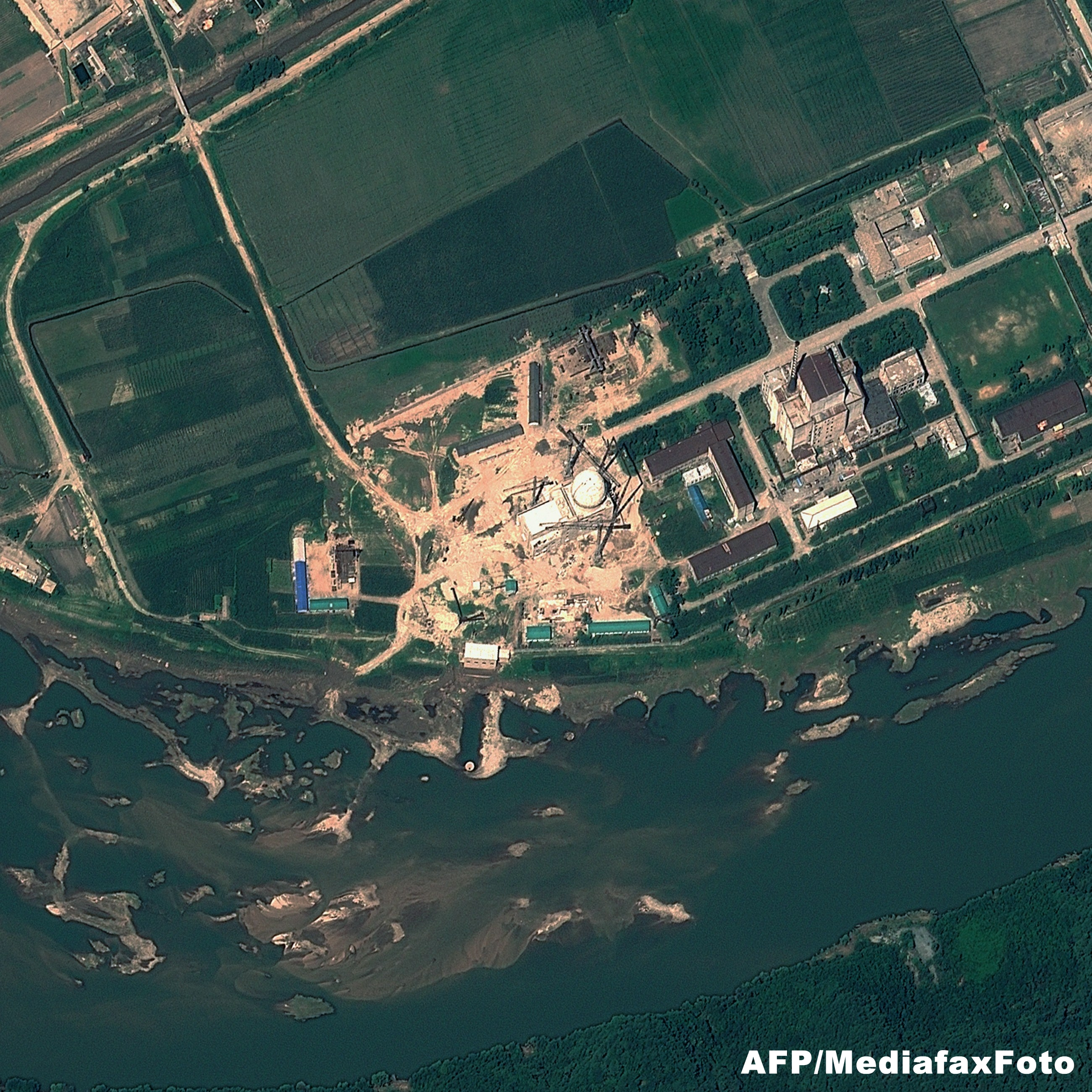 Coreea de Nord a repornit un reactor nuclear la o centrala veche: