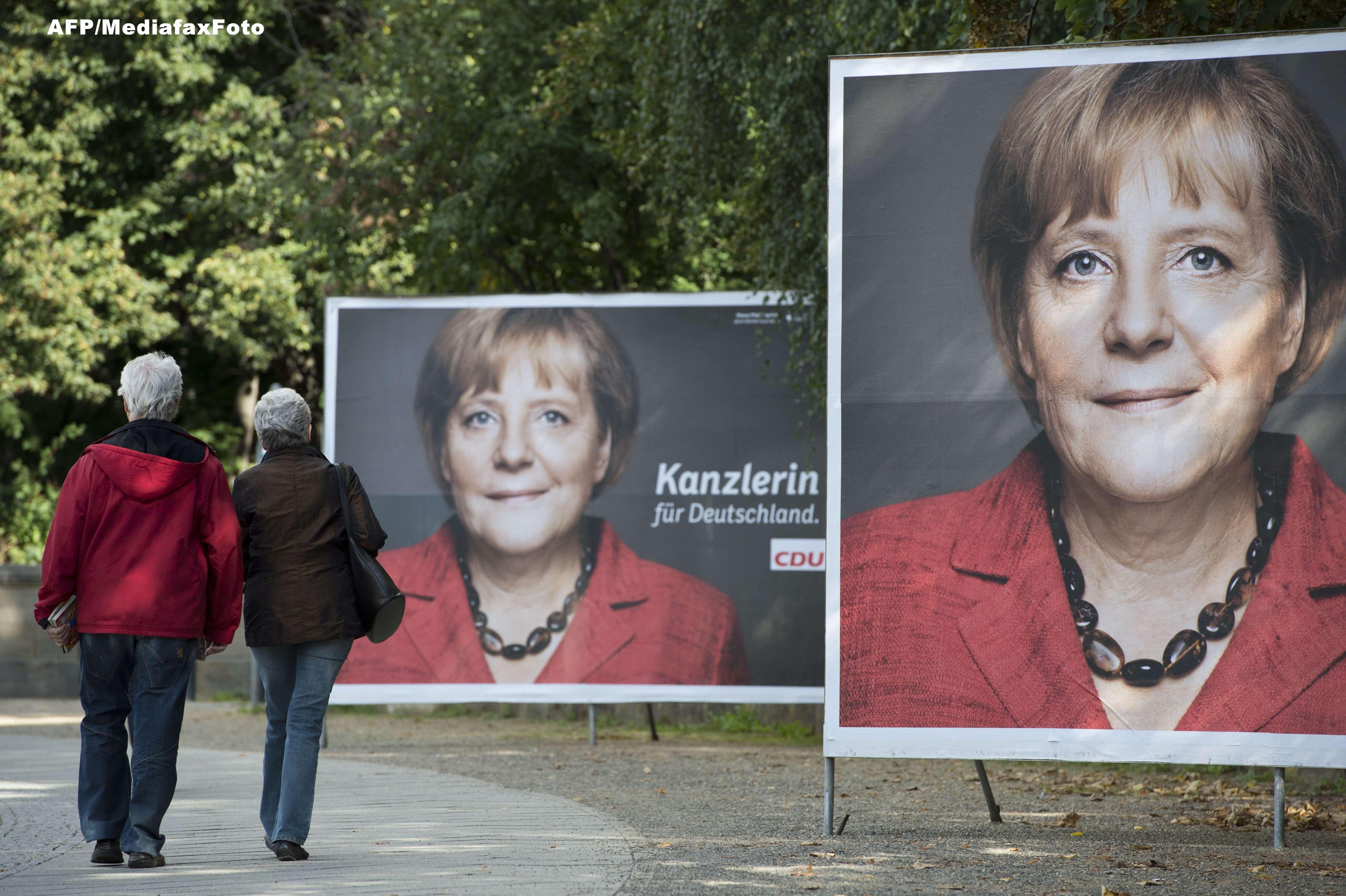 Alegeri legislative in Germania. Angela Merkel nu va obtine majoritatea, nici macar cu liberalii