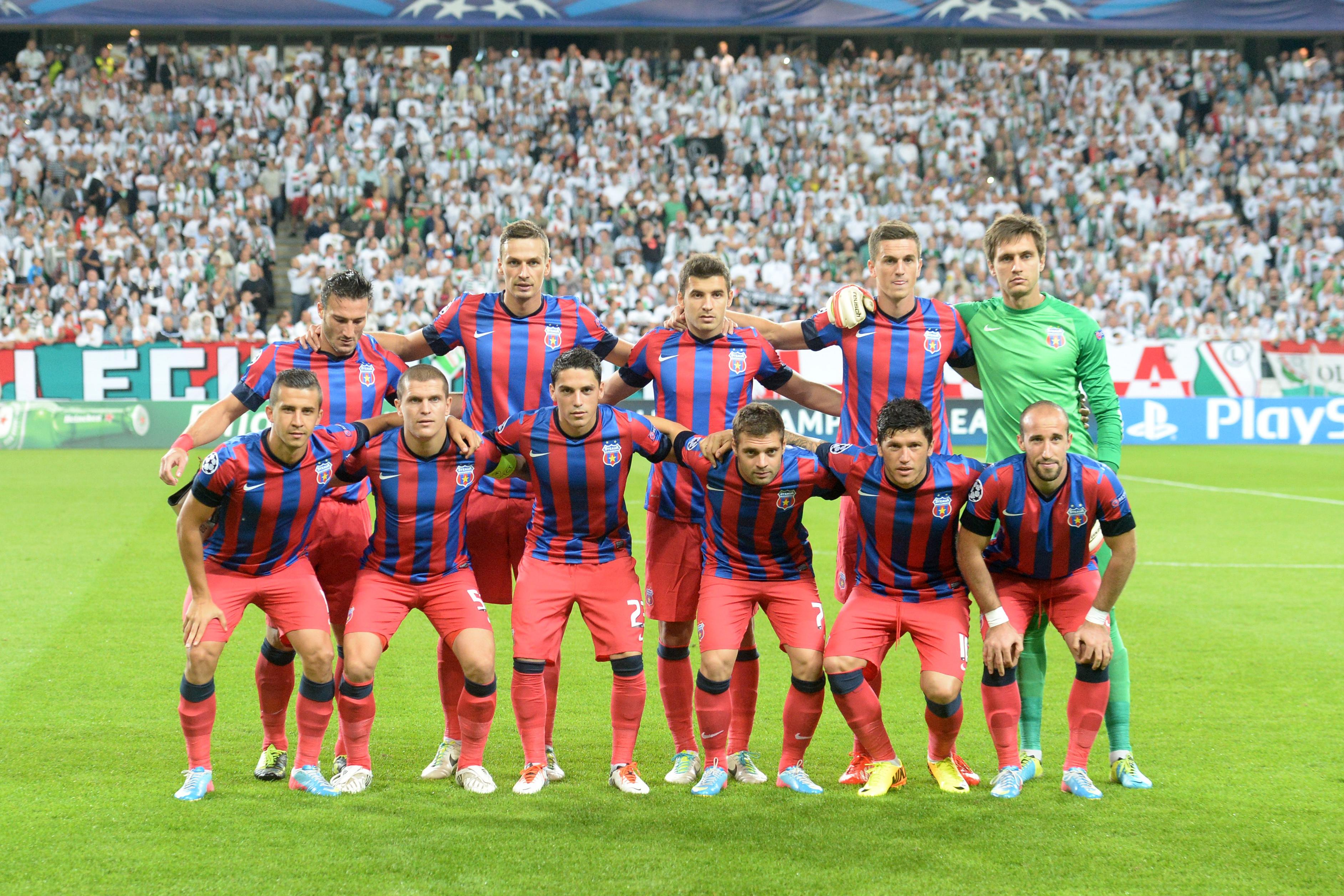 Steaua, sanctionata cu 10.000 de lei de LPF pentru incidentele de la meciul cu Timisoara