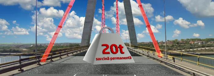 Dupa ce a dat 700.000 euro pe becuri,statul a inchis Podul de la Agigea.Riscul de prabusire, iminent