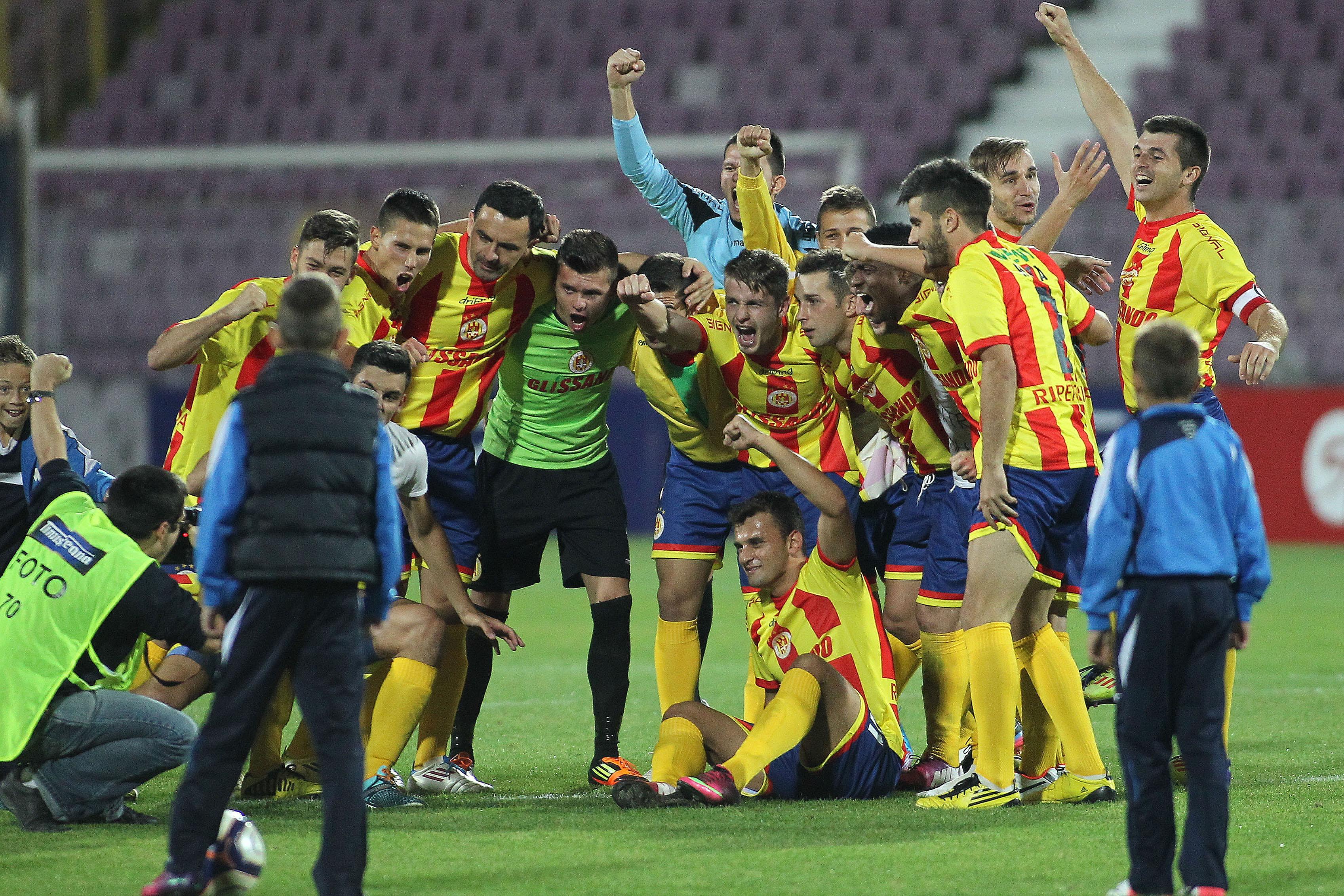 Ripensia – surpriza de proportii in Cupa Romaniei! Echipa din liga a cincea a eliminat-o pe U Cluj!