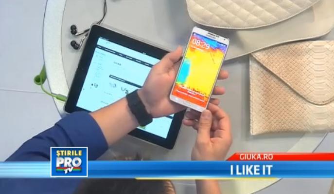 I LIKE IT. George Buhnici prezinta noile phablete Samsung Galaxy Note 3 si Sony Xperia Z Ultra