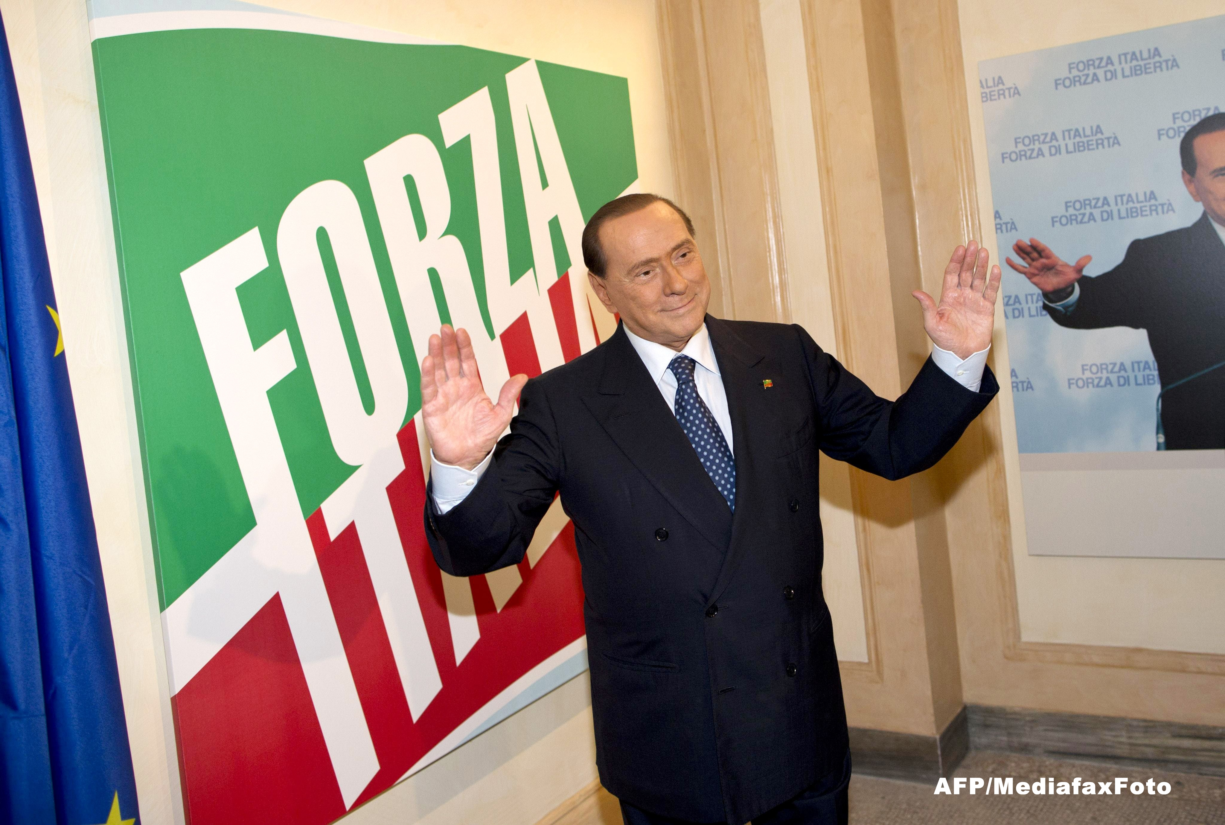 Silvio Berlusconi spune ca a primit propuneri din Romania pentru a candida la europarlamentare