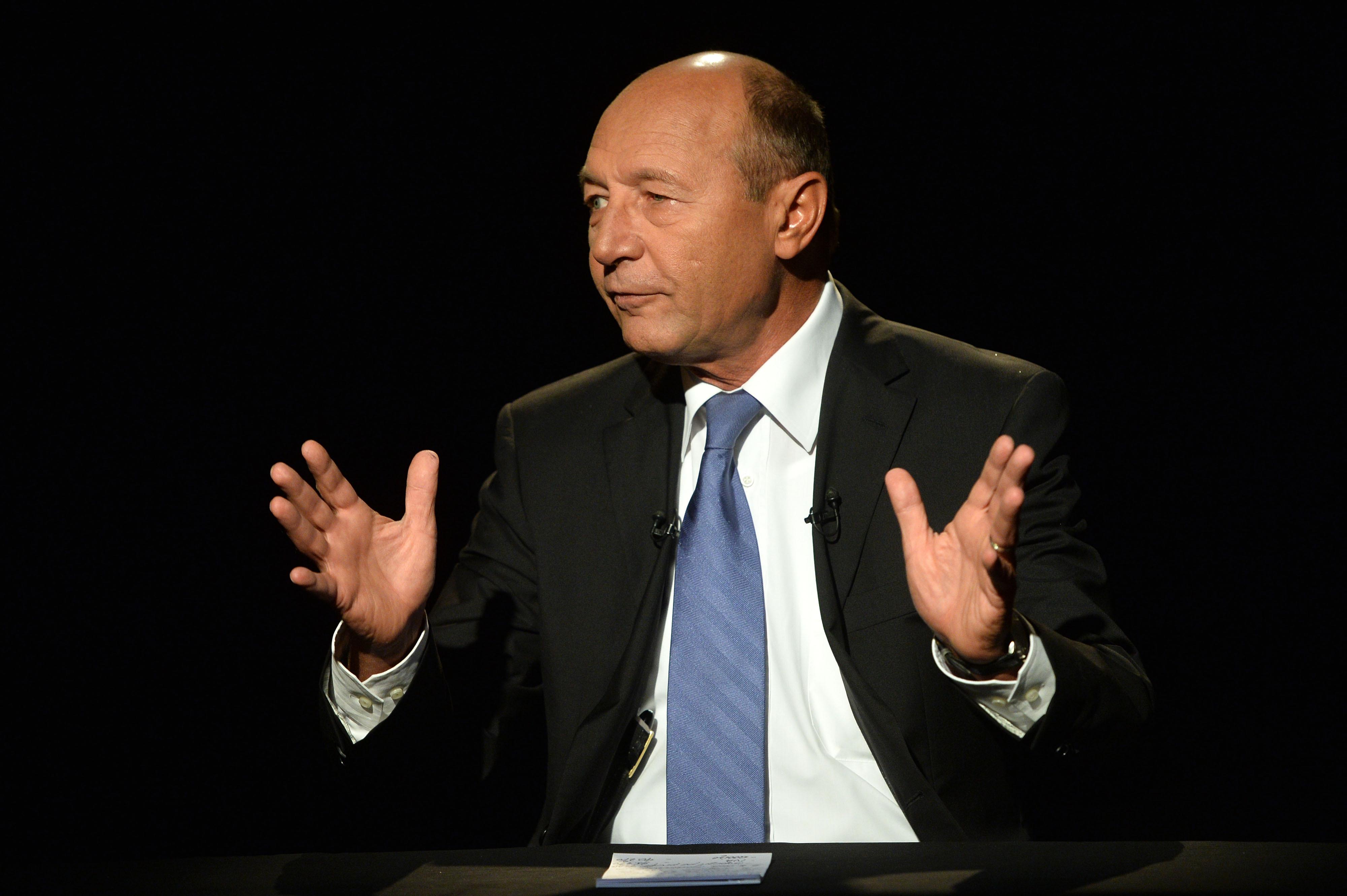 Traian Basescu il lauda pe Klaus Iohannis: