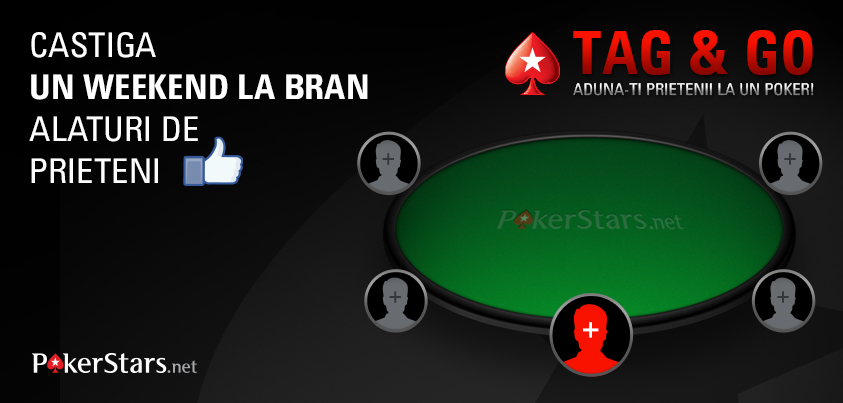 CONCURS Tag&Go. Castigi un weekend la Bran sa joci la cea mai tare masa de poker. Ce trebuie sa faci