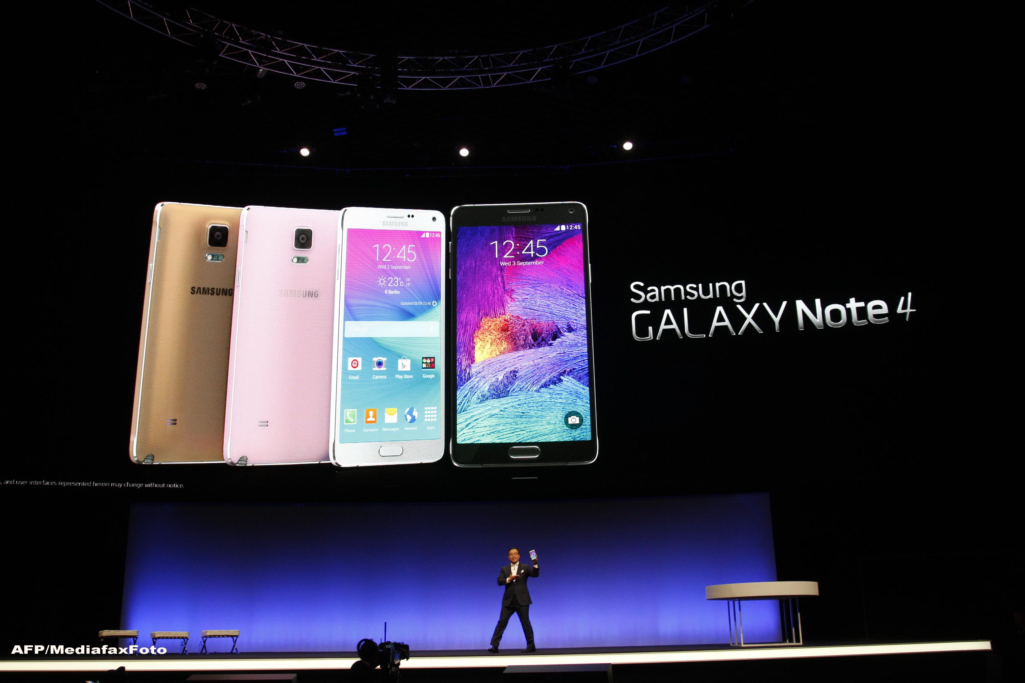 IFA Berlin 2014. Samsung a lansat mult asteptatul Note 4, dar si Gear - un dispozitiv pentru realitatea virtuala