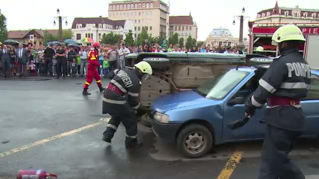 S-a dat startul competitiei nationale dintre echipajele de urgenta. 100 de subofiteri au fost pusi la incercare