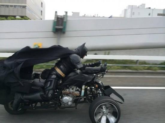 Batman, in varianta japoneza. Aparitia ciudata care starneste senzatie pe strazile din Japonia. VIDEO