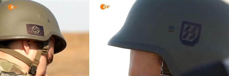 Criza in Ucraina. O televiziune germana a difuzat imagini cu soldati ucraineni care purtau simboluri naziste