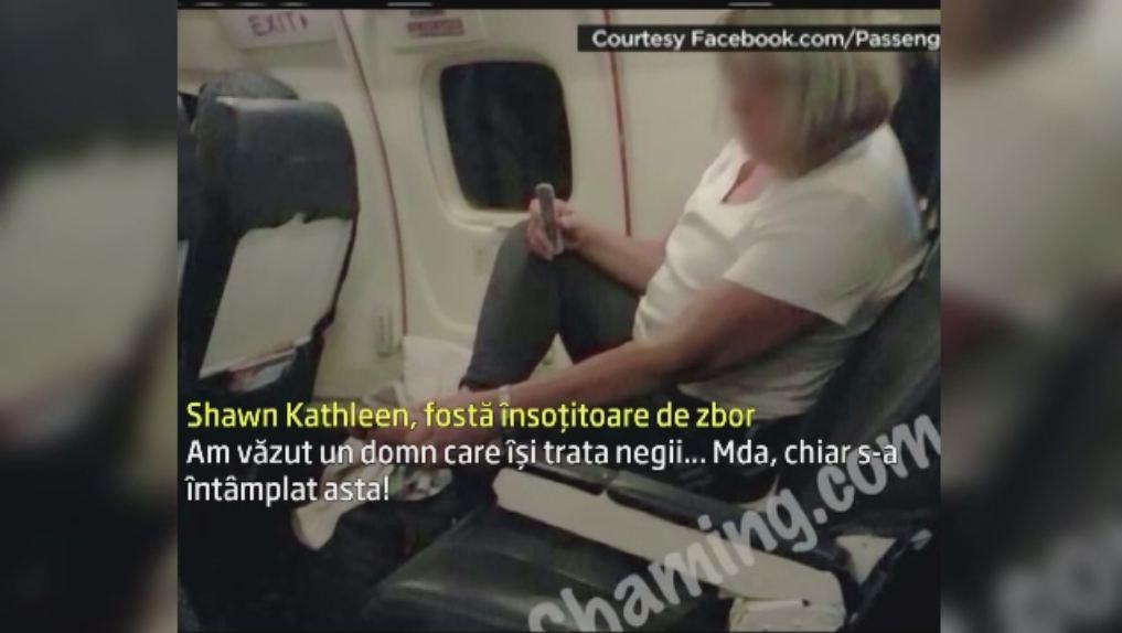 O stewardesa ii pune la zid pe pasagerii certati cu bunul simt. Fotografiile care au facut inconjurul lumii. GALERIE FOTO